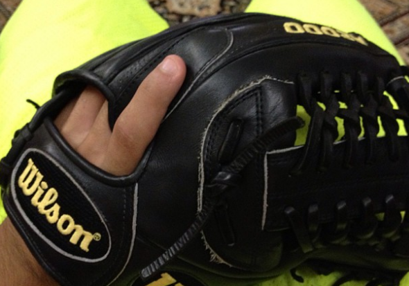 pitching gloves